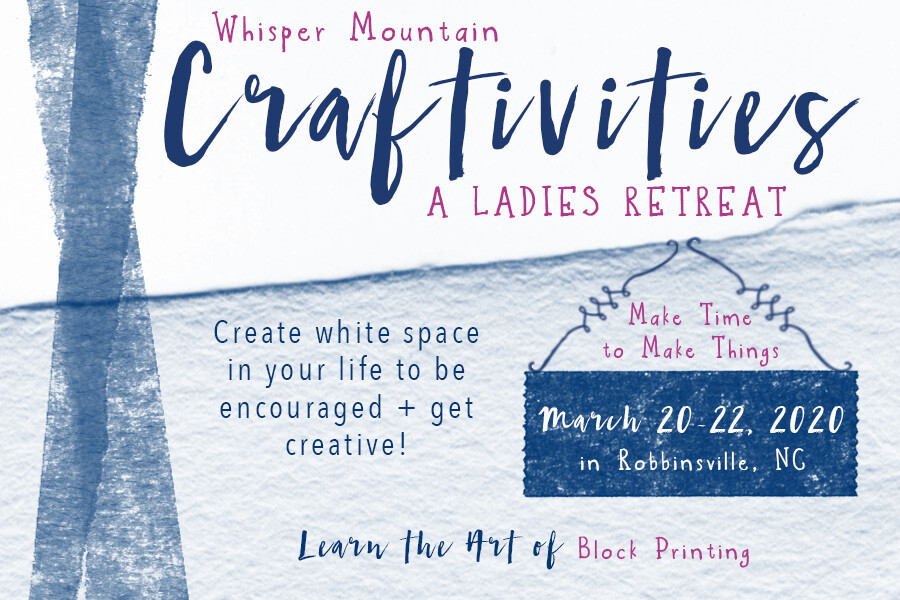 Ladies: White Space Retreat